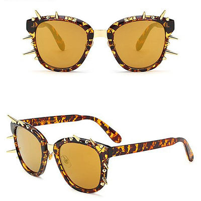 Spike Studded Gothic Sunglasses