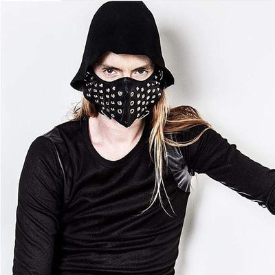 Mysterious Assassin Rivet Mask