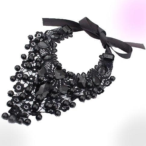 Black Rocks Necklace