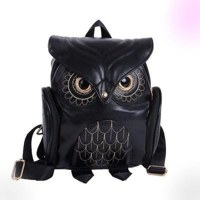 Body-Snatching Vintage Style Owl Backpack