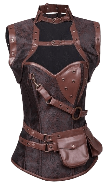 Gothic/SP Tribulations Steel Boned Corset
