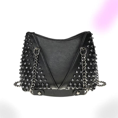 Chained Rivet Gothic Bag