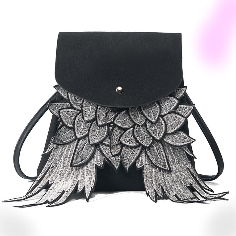 Dreaded Wings PU Leather Backpack