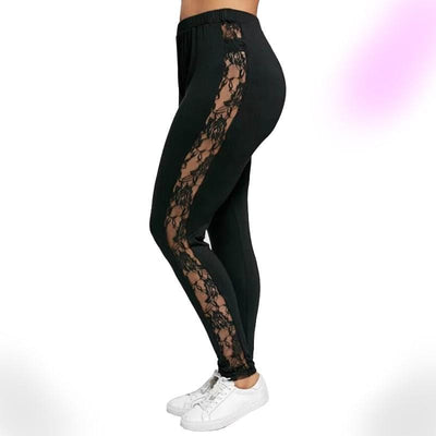 Floral Sheer Leggings
