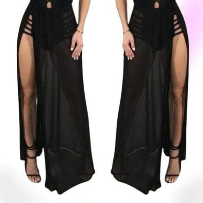 Flown Away Gothic Long Skirt