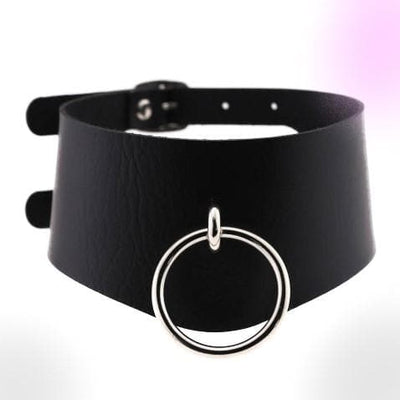 Gothic Harajuku Leather Choker