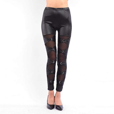 HOOKIN' UP GOTHIC LEGGINGS