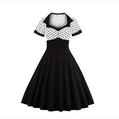 Dark Romanticism 50s Style Pin Up Dress