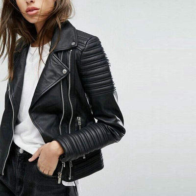 Dark Diva Faux Leather Jacket
