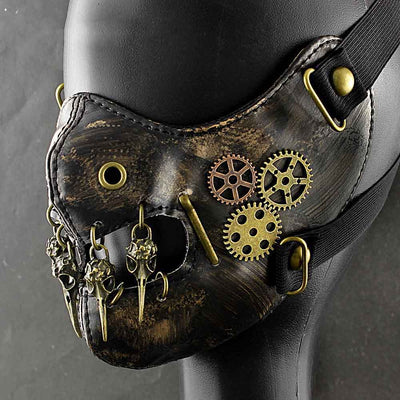SteamPunk Vintage Mask Costume