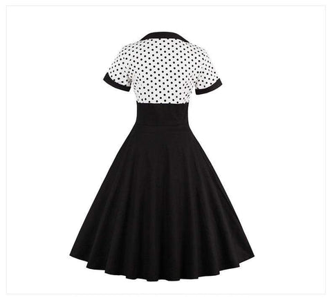 Dark Romanticism 50s Style Pin Up Gothic Dress