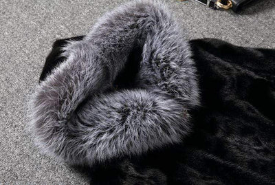 FRIEND OR FAUX FUR GOTHIC JACKET