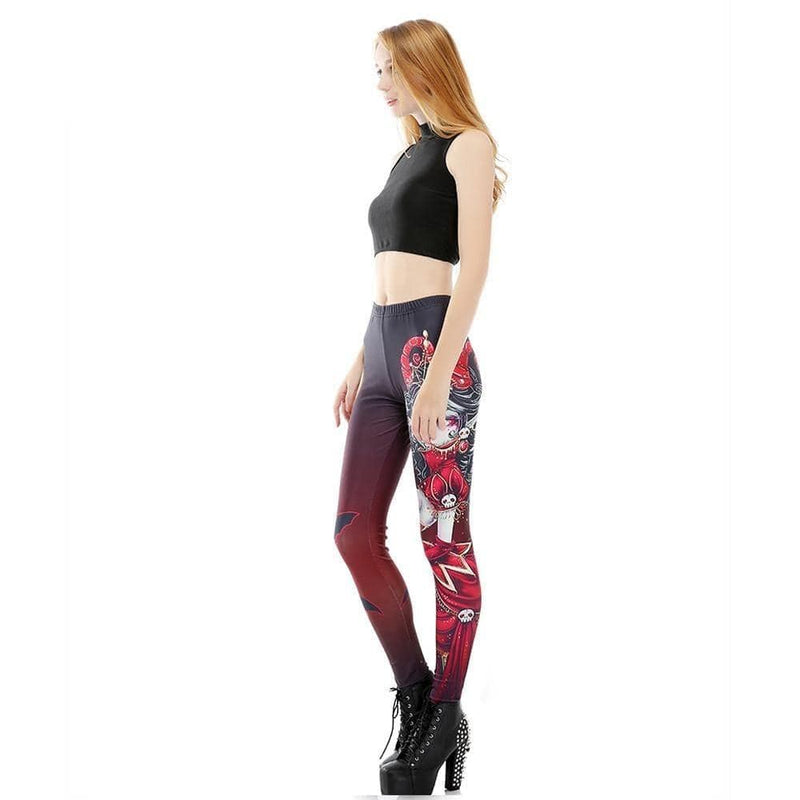 Vampire Queen Leggings