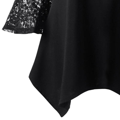 Dark Always Dreaming Off Shoulder Blouse