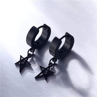 Kpop Hexagram Earrings