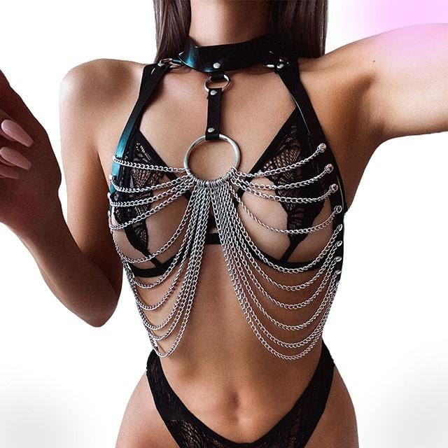 Lascivious Chain Harness