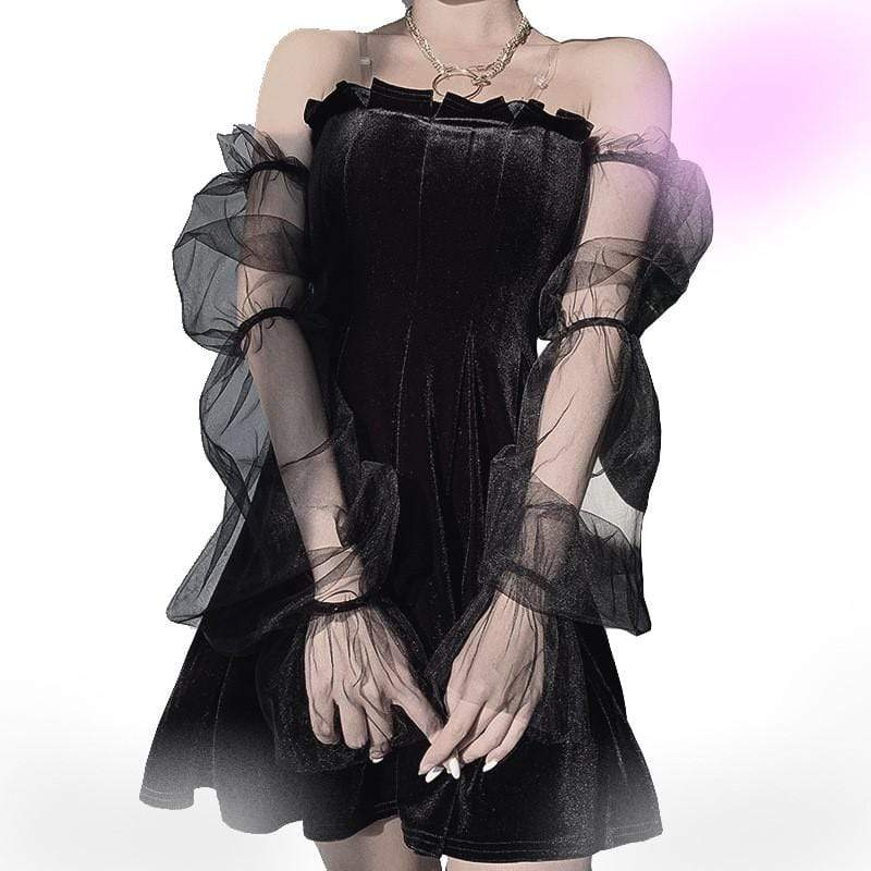 Lovely Goth Chick Dress
