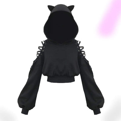 Miss Catty Cat Ear Hoodie