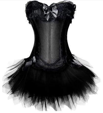 The Female Gothic Dark Gothic Tutu Corset