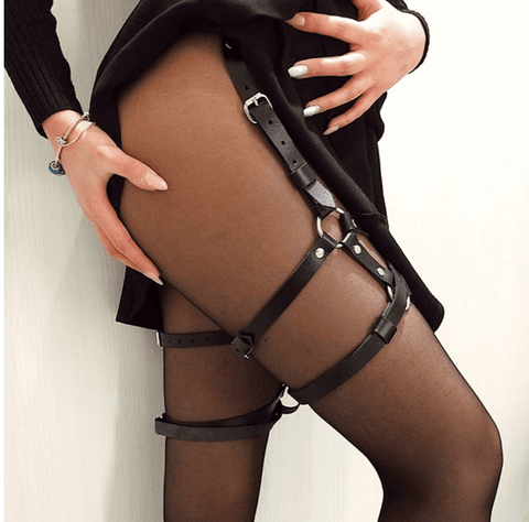 Bellatrix Gothic Belt Leather Bandage