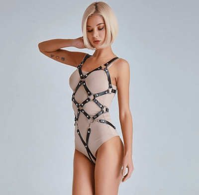 Oleander Bondage Body Harness
