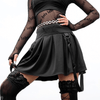 Evanora Pleated Skirt Gothic