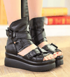 Fearless Leather Sandals