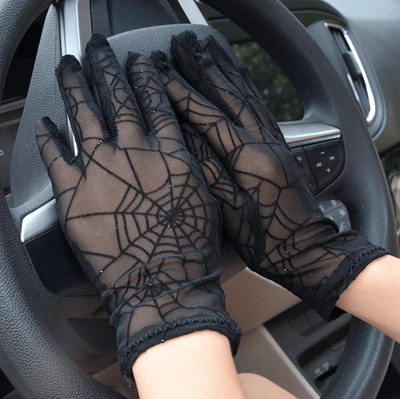 Spider Short Lace Gloves