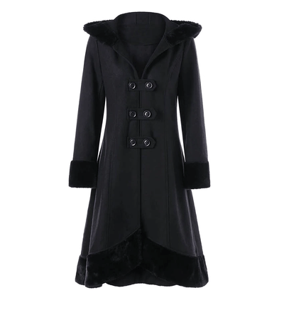 Queen Akasha Lace Up Coat