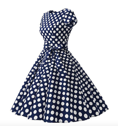 Airlia Polka Dots Dress