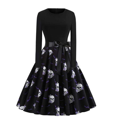 Early Warning Skull Dress
