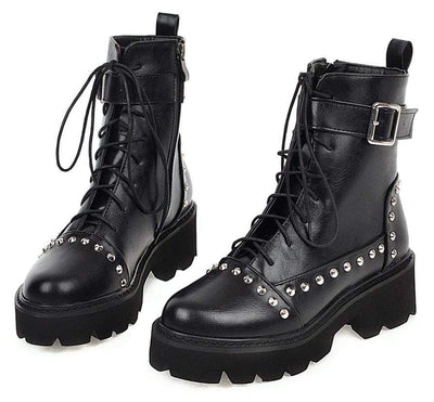 Journey Seeker Rivet Boots