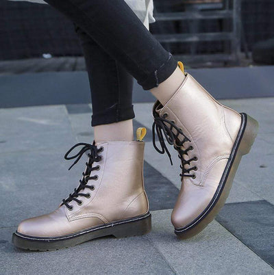 Purely Passion Combat Boots
