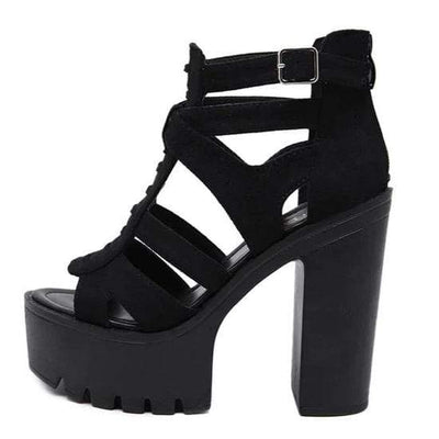 Lux Night Velvet Sandal