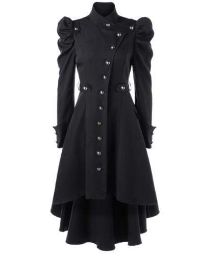 Retribution Button Up Coat