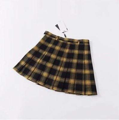 Gothic Harajuku Pleated Skirt