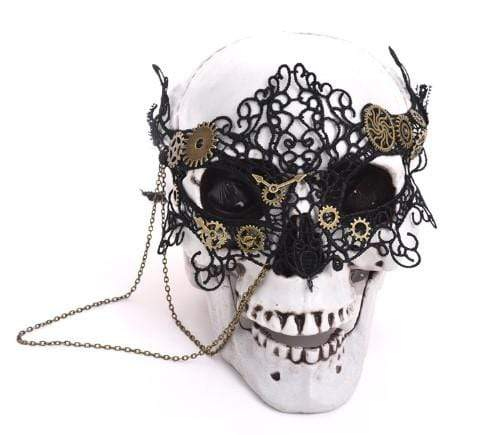Gothic Victorian Lace Mask