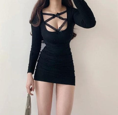 alluring mini dress