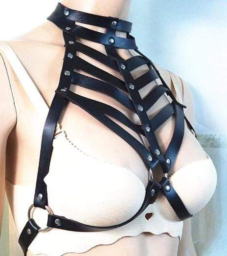 Body Cage Leather Harness