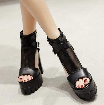 CARLA Gothic Cover Heels Platform Shoes