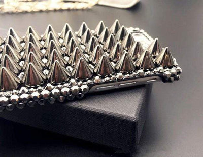 Metal Spiked Studded Phone Case - iPhone
