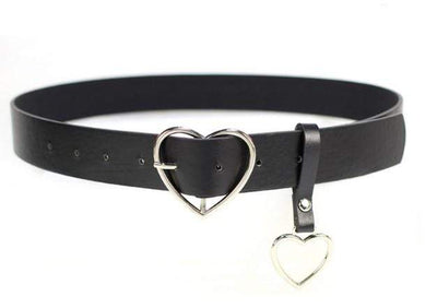 Belt Metal Heart Buckle