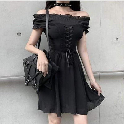 Enchanted Marionette Chiffon Dress