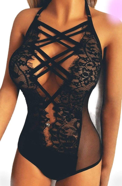 Sweet Darkness Lace Lingerie