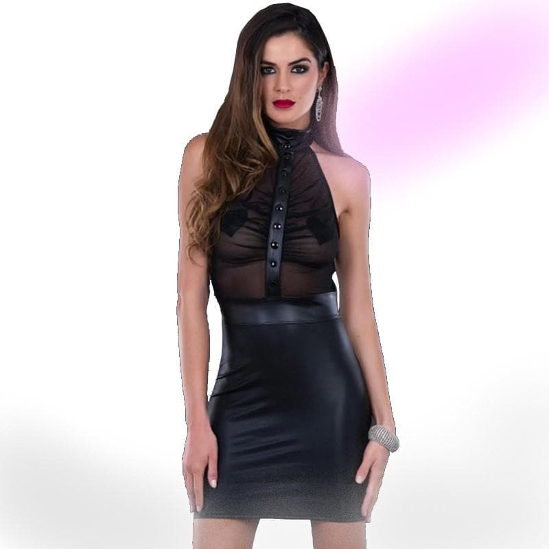 Translucent Temptation Dress