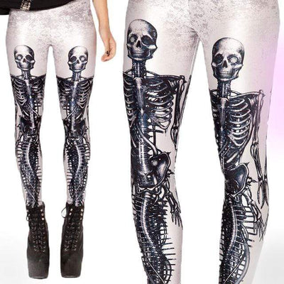 Twin Skeleton Leggings