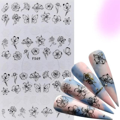 Stylish Assorted Nail Art