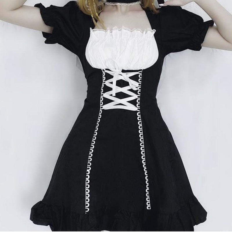 French Maid Lolita Dress