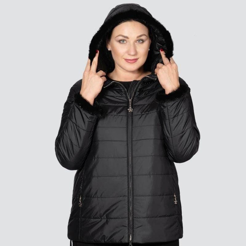 Hoodied Puffer Coat