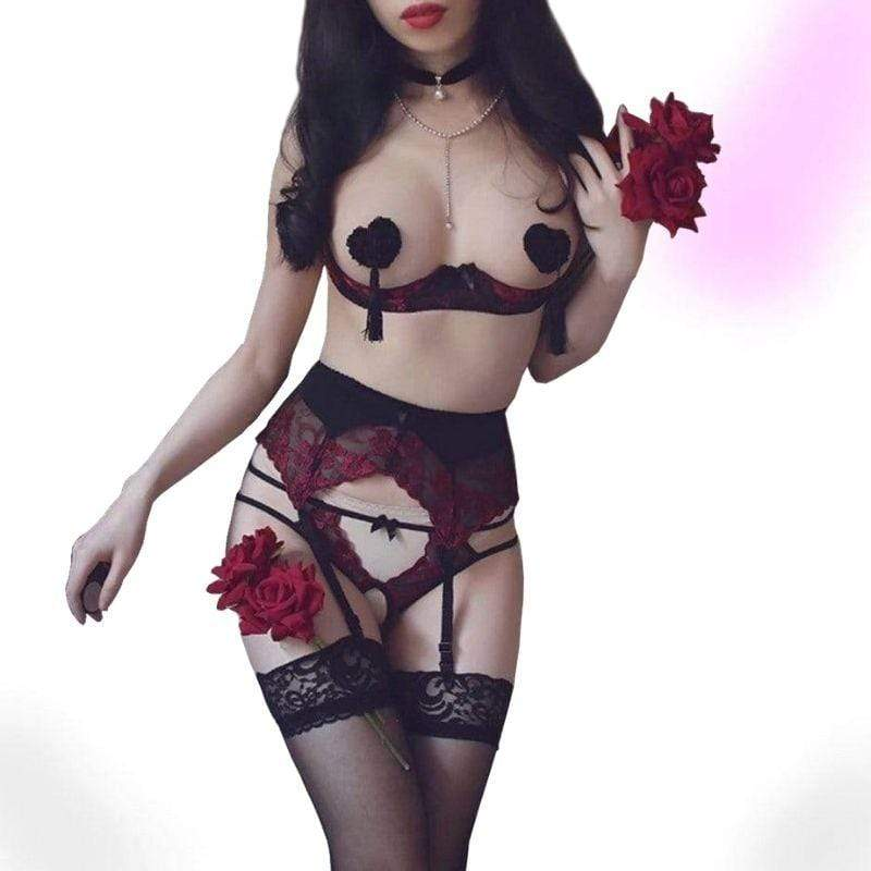 Where You At Exotic Goth Lingerie